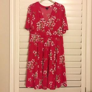 NWOT Torrid Floral Wrap Dress